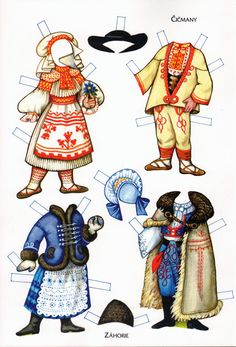 Traditional Costumes of the World Paper Dolls Paper Doll Costume, Folk Costume, Paper Dolls Clothing, Paper Art, Paper Crafts, Paper Dolls Printable, Thinking Day, Vintage Paper Dolls, Retro Toys