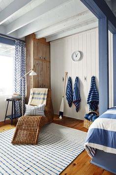 AFTER PHOTOS Sarah Richardson Rental Cottage in Parry Sounds Canada - kids bunk room.JPG