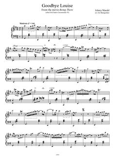 Being There: Goodbye Louise | MuseScore
