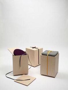 hako stool . Yukati Hottacolor