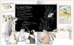 """Emily Gravett's """"Rabbit problem"""" - very cute book! I love Gravett's illustrations"""
