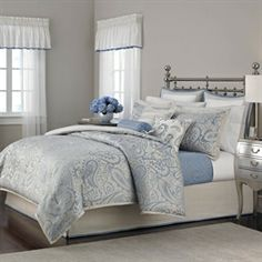 Iwant this SOOO BAD!  Gemstone Paisley 22 pc. Queen Comforter Set