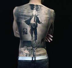 Hyper Realistic Tattoo 15 / In need for air.