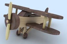 Wooden Toy Airplane,  Biplane, #odinstoyfactoy #handmade #handcrafted #woodentoys #toys #tallahassee #florida #airplane #biplane