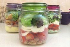 5 receitas de saladas no pote.