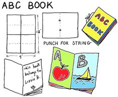 Alphabet Letter Crafts for Kids: ABC Arts & Crafts & Alphabet Projects with DIY Instructions & Activities for Children Preschoolers Kindergarteners and Toddlers Kids Crafts, Fun Arts And Crafts, Craft Projects For Kids, Crafts For Kids To Make, Alphabet Letter Crafts, Alphabet For Kids, Alphabet Book, Abc For Kids, Thing 1