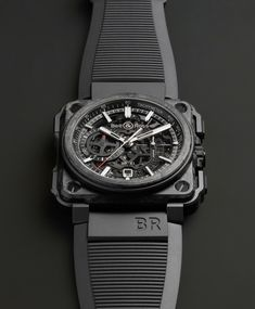 TimeZone : Industry News » Basel 2015 - Bell & Ross BR-X1 Carbone Forgé