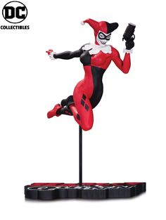 DC Comics Harley Quinn Red, White & Black Terry Dodson Statue  www.FanboyCollectibles.com  https://www.facebook.com/fanboy.collectibles/  https://twitter.com/FanboyCollect  https://www.instagram.com/fanboycollectibles/  https://fanboycollectibles.tumblr.com