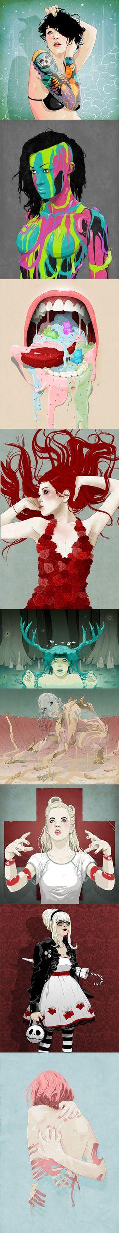Illustrations by Stuntkid (Jason Levesque)