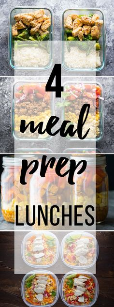 The four most popular meal prep lunch recipes on Sweet Peas & Saffron!  Spend a bit of time on the weekend prepping your lunches for the week and you are setting yourself up for success. Prepping our lunches on the weekend has made a world of difference in reducing my stress levels, saving money, and...Read More