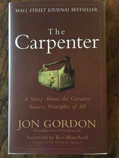 """Join us in the LAMB (Living At My Best) Community http://ift.tt/2pLl6UO for Book Club in May.   We'll be reading Jon Gordon's """"The Carpenter."""" You can grab the book at your favorite online retailer or visit a local book store (support your peeps) and grab a copy before we start."""