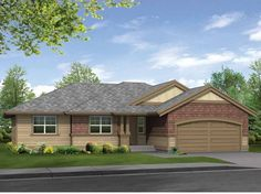 Eplans Craftsman House Plan - Perfect Starter Home Open Floor Plan - 1210 Square Feet and 3 Bedrooms from Eplans - House Plan Code HWEPL14293