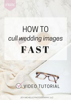 How to cull wedding photos fast and save time! Tutorial showing how I sort through thousands of wedding images quickly for photographers