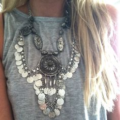 Moons Vengeance Indian Necklace