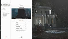 Lincoln by Watson , via Behance