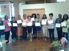 Graduating class! We did it... Thanks Sheila