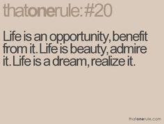 life is amazin(: