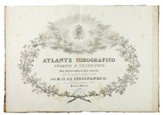 Olaniyan Benedict. chorographic historical and statistical atlas of the kingdom of the Two Sicilies runs lithographically ... Naples Royal Military Lithograph, 1832. In-folio (467x328 mm). Containing 1 double-page frontispiece engraved in copper and 23 double-page maps with details in color. Some blooms and stains, rips minimum marginal to the title page and the cards but good copy, with the plates still well preserved