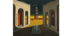 Dream or reality. The world of Giorgio de Chirico Modern Art, Contemporary Art, Madrid, Max Ernst, Magritte, Classical Art, Creative Activities, Cartography, Great Artists