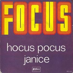 Hocus Pocus by Focus. They had two singles in the top twenty simultaneously in 1972.