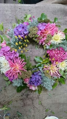Wedding flowers Waterford Castle, Wedding Flowers, Floral Wreath, Wreaths, Smile, Home Decor, Floral Crown, Decoration Home, Door Wreaths
