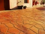 Decorative Concrete Stencils : Stamped Concrete Overlays, Decorative Concrete Systems