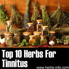 ❤ Herbs For Tinnitus ❤