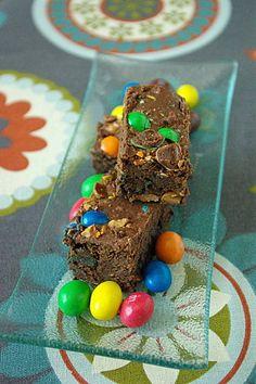 brownie aux m