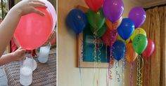 Comment gonfler un ballon sans hélium! Did you know that helium is becoming ever rarer? Ballon Helium, Tips & Tricks, Birthday Balloons, Diy For Kids, Party Time, Activities For Kids, Diy And Crafts, Diy Projects, Baby Shower