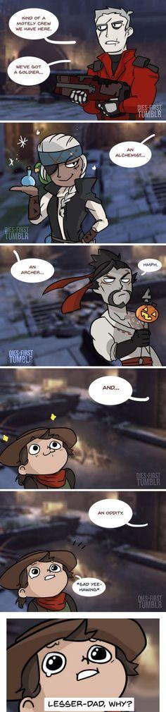 Overwatch comic - Halloween Event