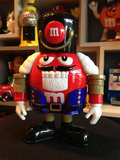 Email M&M Nutkracker Red