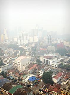 Haze in Kuala Lumpur, Malaysia