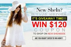 Let`s talk about fashion !: Sheinside Giveaway- win $120