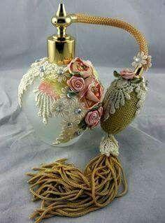 Antique perfume sprayers