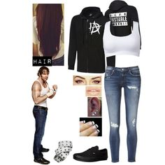"""""""Finding Out With My Hubby Dean Ambrose What Kind Of Match The Fans Voted For Against Seth Rollins"""" Wrestling Outfits, Wwe Outfits, Fashion Outfits, Womens Fashion, School Outfits, Dean Ambrose T Shirt, Wwe Costumes, Cowgirl Style Outfits, Wwe Womens"""