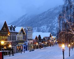 bavarian houses in the snow - Google Search