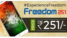 Freedom 251 - A possible disruption?