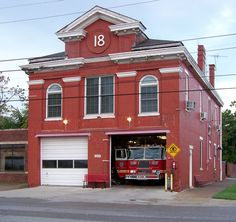 Louisville Fire Engine company The Cardinal house sits on the campus of The University Of Louisville University Of Louisville, Louisville Kentucky, Fire Dept, Fire Department, Ghostbusters Firehouse, Fire Suppression System, Engine House, Fire Equipment, Fire Engine