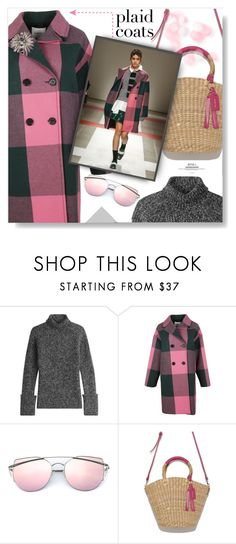 """""""Chequered Past..."""" by desert-belle ❤ liked on Polyvore featuring Joseph, Iceberg, Oscar de la Renta, polyvoreeditorial, plaidcoats and iceberg"""