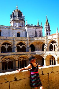 Jerónimos Monastery is an outstanding building of architectural design. Built during the time of Portugals age of discover