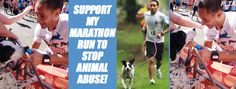 Please sponsor Andres in the 2017 London Marathon as he seeks to raise £18,000 for PETA in order to help stop animal abuse.