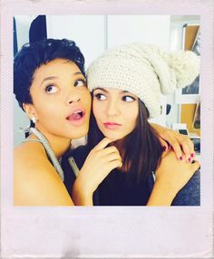 Kiersey Clemons and Victoria  #eye candy