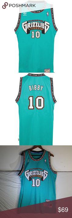 ADIDAS Mike Bibby Vancouver Grizzlies Men s Mike Bibby Vancouver Grizzlies  Swingman Jersey All products are original 119c5a8f9