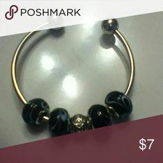 Bead bracelet Bracelet with 5 beads Jewelry Bracelets
