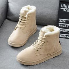 Snow Boots 2019 New Mid-Calf Boots Ladies Cotton Winter Boots Women Warm Fur Women Shoes Winter Women'S Boots Lace up WOMEN SHOES SIZE CHART WOMEN USA SIZE European/RU China Heel to Toe(cm) Heel to Toe(inch) 4.5 34 35 22.5 8.8583 5 35 36 22.8 8.9764 5.5 35.5 36 23.1 9.0945 6 36 37 23.5 9.252 6.5 37 38 23.8 9.3701 7 37.5 38 24.1 9.4882 7.5 38 39 24.5 9.6457 8 38.5 40 24.8 9.7638 8.5 39 40 25.1 9.8819 9 40 41 25.4 10.0000 9.5 41 41 25.7 10.1181 10 42 42 26 10.2362 10.5 43 43 26.5 10.4331 11 44 44 Ankle Snow Boots, Snow Boots Women, Suede Ankle Boots, Shoe Boots, Ugg Boots, Flat Boots, Women's Boots, Timberland Boots
