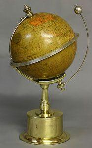 c.1895 Rare French Globe Clock