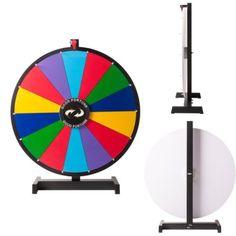Mesa Premio rueda giratoria 14 ranuras con color Comercio mostrar Spin Juego de borrado en seco