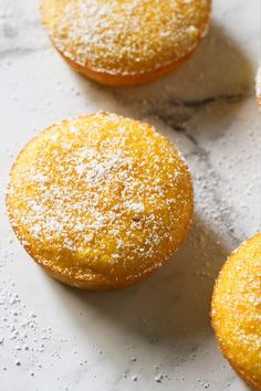 Flourless Orange and Almond Cakes are a great gluten free dessert option. These orange almond cupcakes are light and moist with just the right amount of sweetness. Serve as is, or sprinkle some icing or powdered sugar on top. Apple Cake Recipes, Easy Cake Recipes, Sweet Recipes, Dessert Recipes, Gf Recipes, Baking Recipes, Almond Cupcakes, Almond Muffins, Orange Muffins