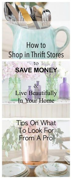 Upcycled Crafts Reuse Thrift Stores - How To Shop In Thrift Stores For A Beautiful Home. Thrift Store Shopping, Thrift Store Crafts, Thrift Store Finds, Shopping Hacks, Thrift Stores, Crafts To Sell, Home Crafts, Diy Crafts, Fun Shopping