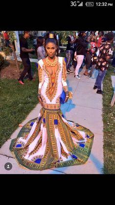 Blue and white African women& dress, Dashiki dress, bespoke dashiki dress, African wo… – African Fashion Dresses African Prom Dresses, African Wedding Dress, African Dresses For Women, African Fashion Dresses, African Attire, African Wear, Ghanaian Fashion, African Style, African Dashiki